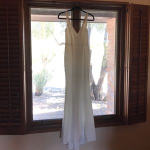 Lulus White Gown